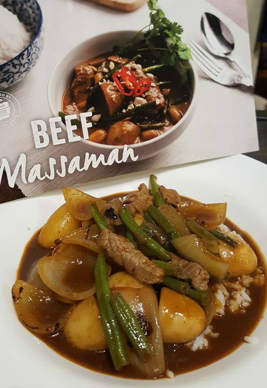 May faves - simply Cook beef massaman