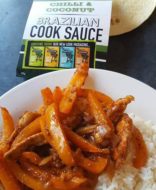 Capsicana Brazilian chilli & coconut cook sauce
