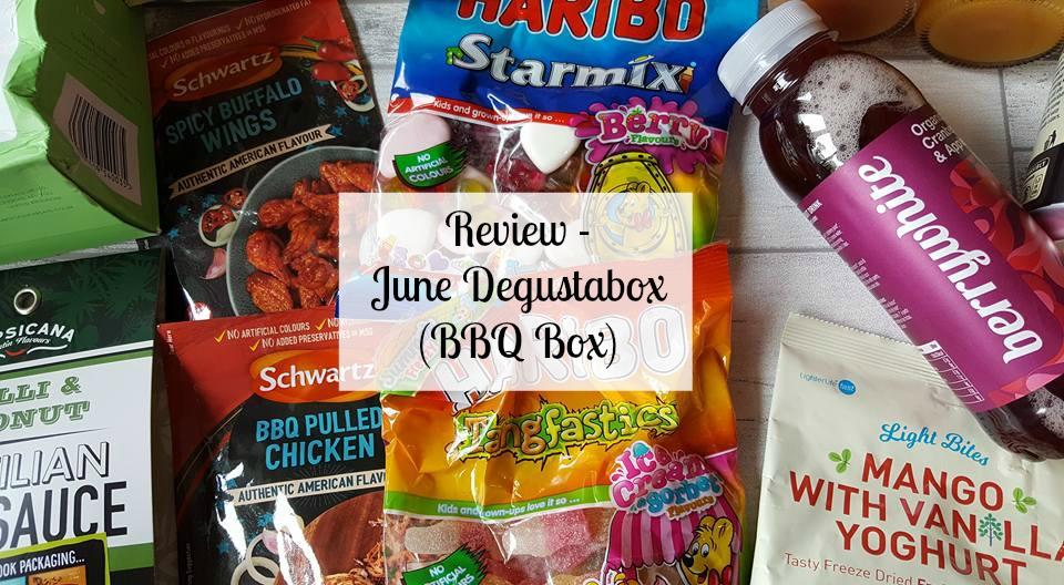 Review - June Degustabox (BBQ box)