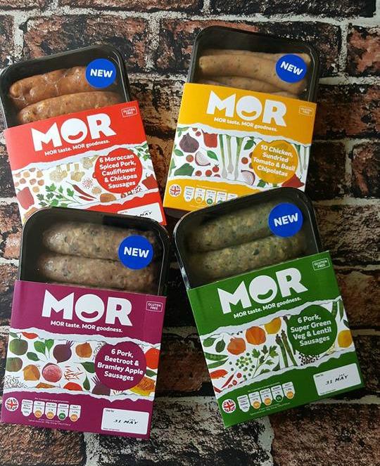 MOR sausages
