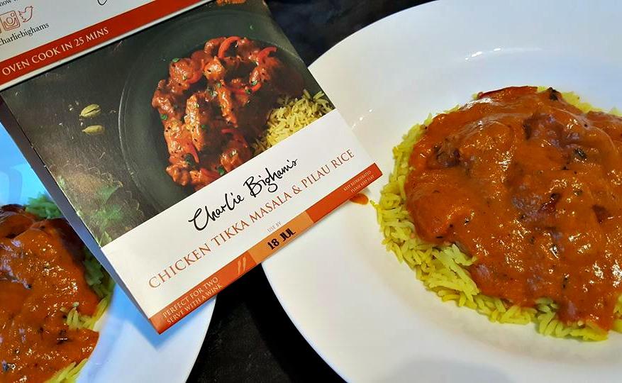 Charlie Bigham's chicken tikka masala