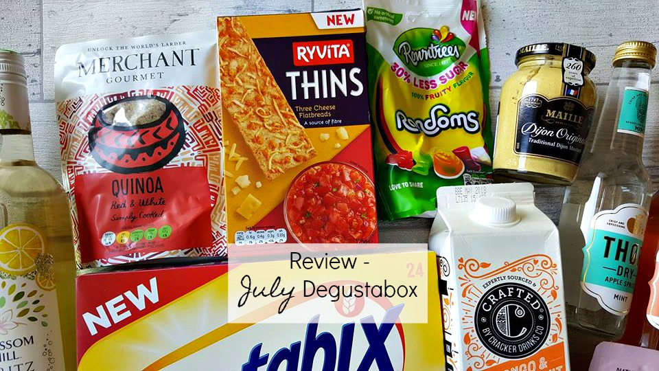 July17 Degustabox review