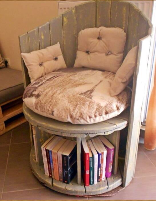 chair, book chair, bookcase chair