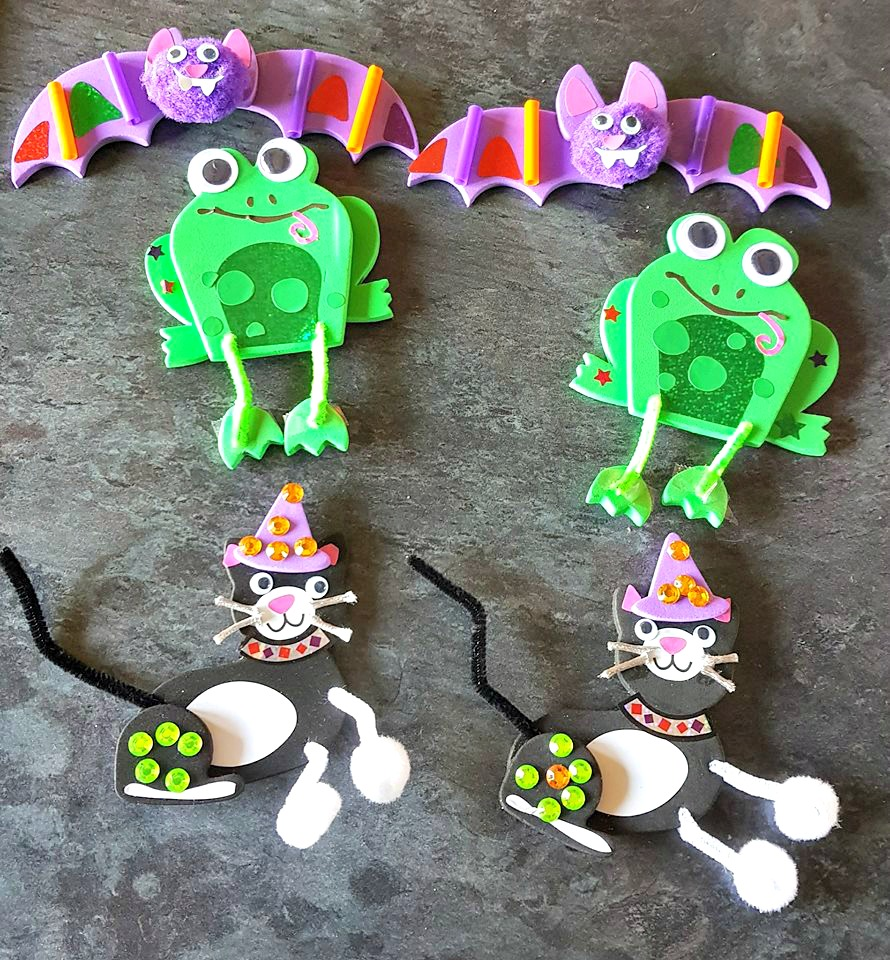 Halloween crafting critters