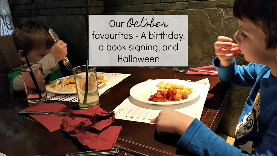 Our October favourites - a birthday, a book signing, and Halloween