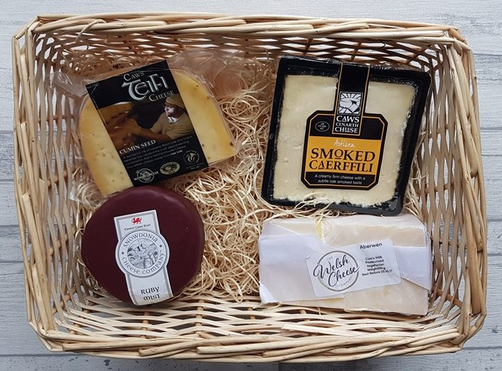 The Welsh Cheese Company Clwb Caws subscription box