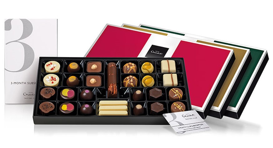Hotel Chocolat tasting club subscription