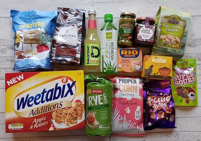 Degustabox food subscription box