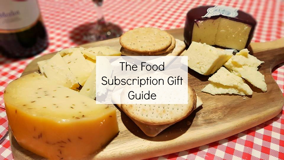 Food subscription gift guide