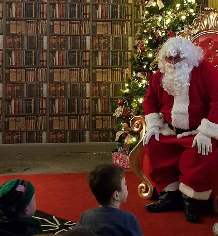 Santa visit - story time