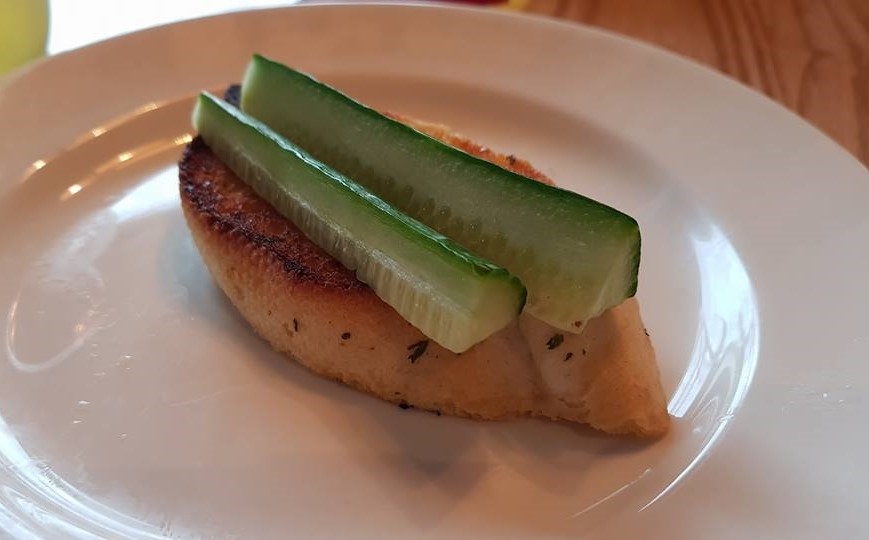 Kids garlic bread starter