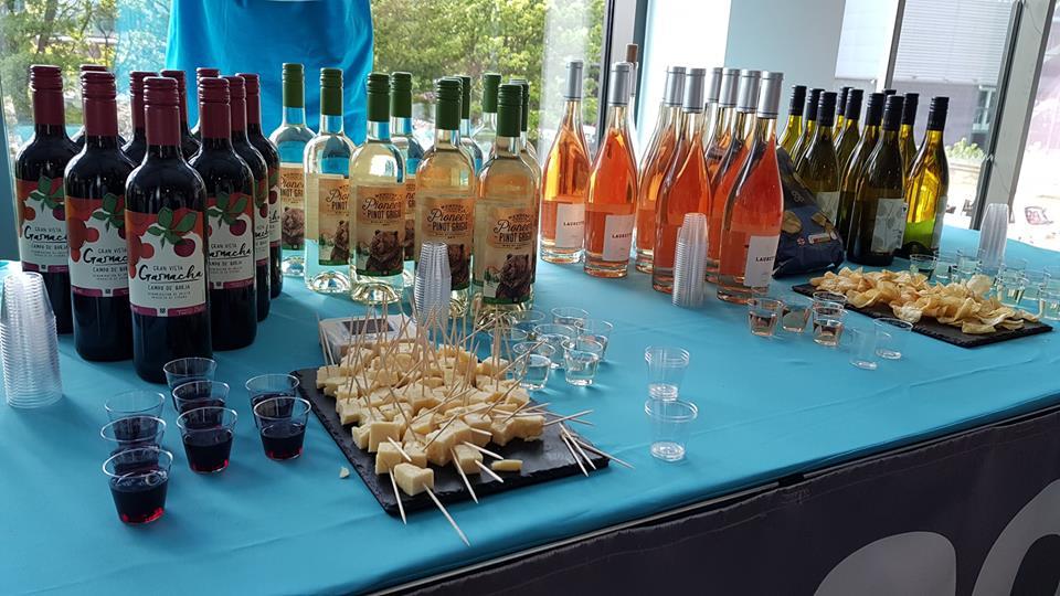 BlogOnX wine tasting