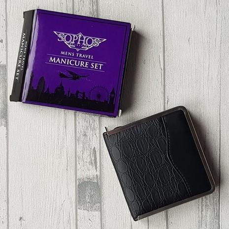 Extra Large black manicure set