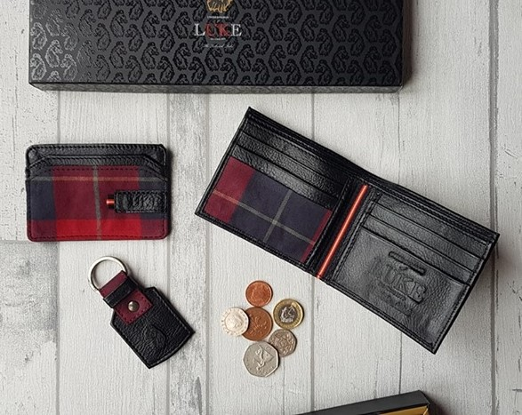 Luke 1977 Forbes Leather Wallet Gift Set