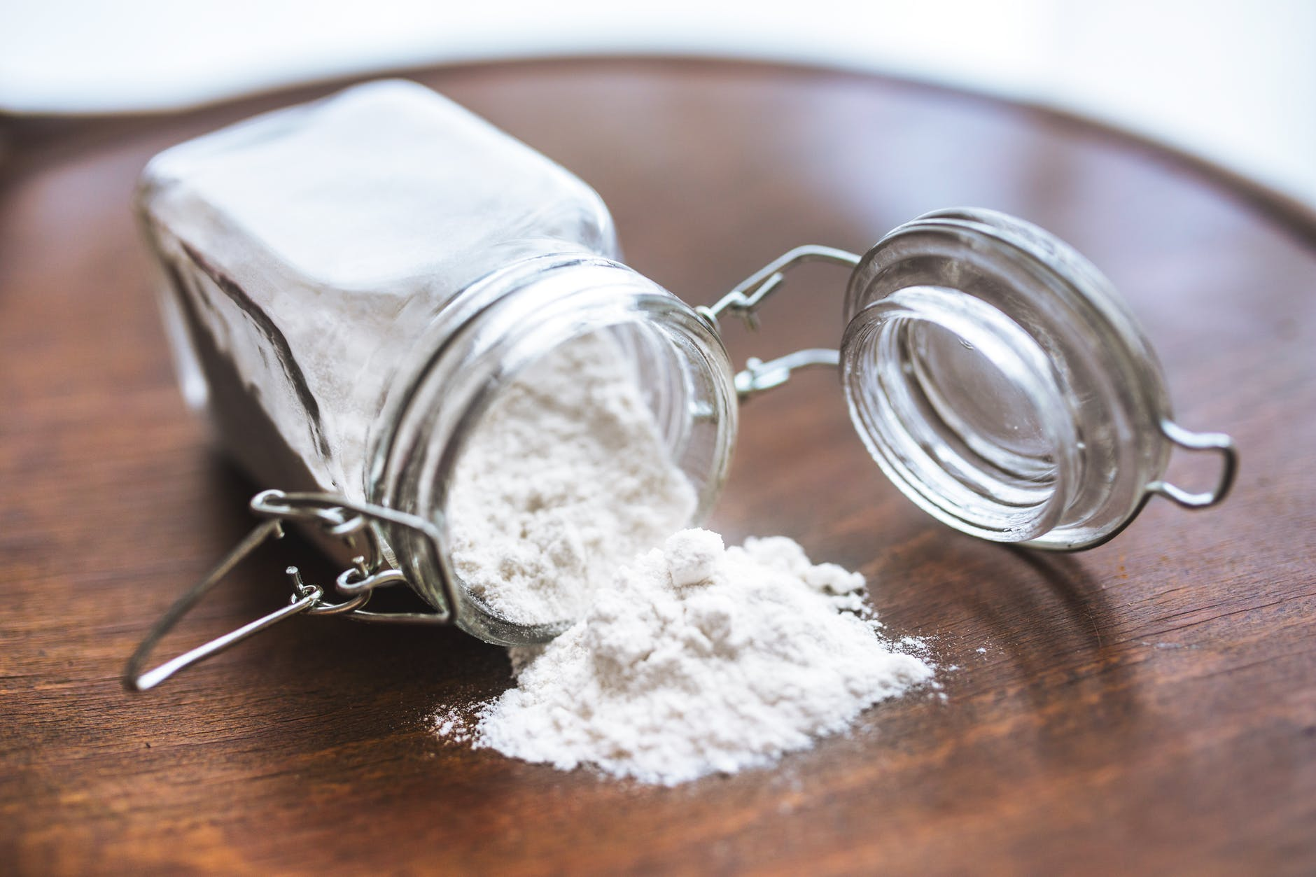 Flour, flour in a jar