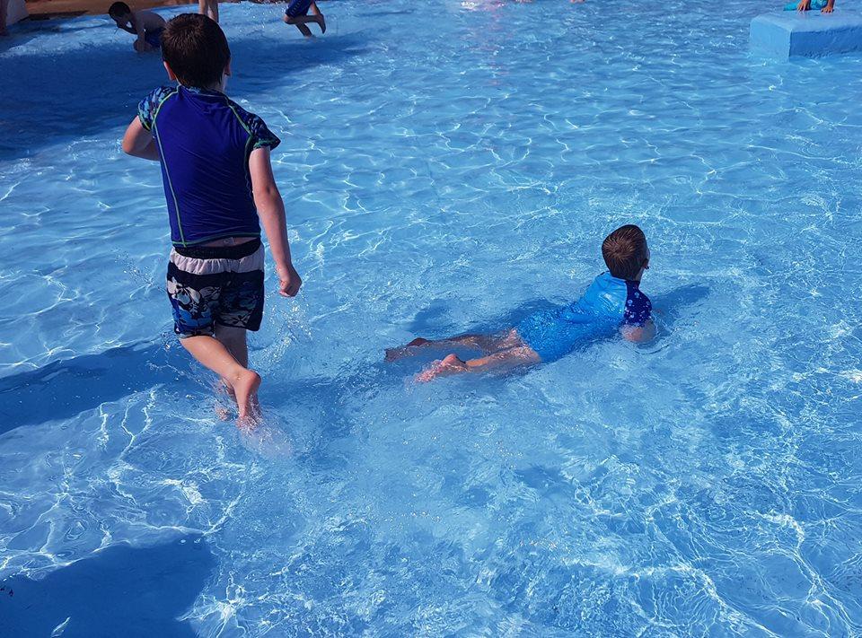 Public paddling pool