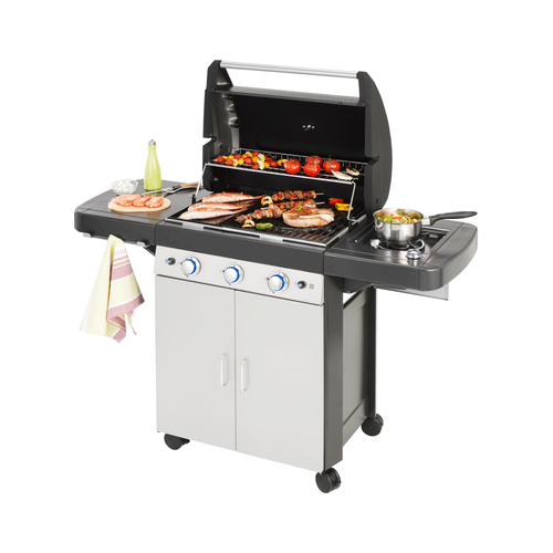 Gas grill, barbecue