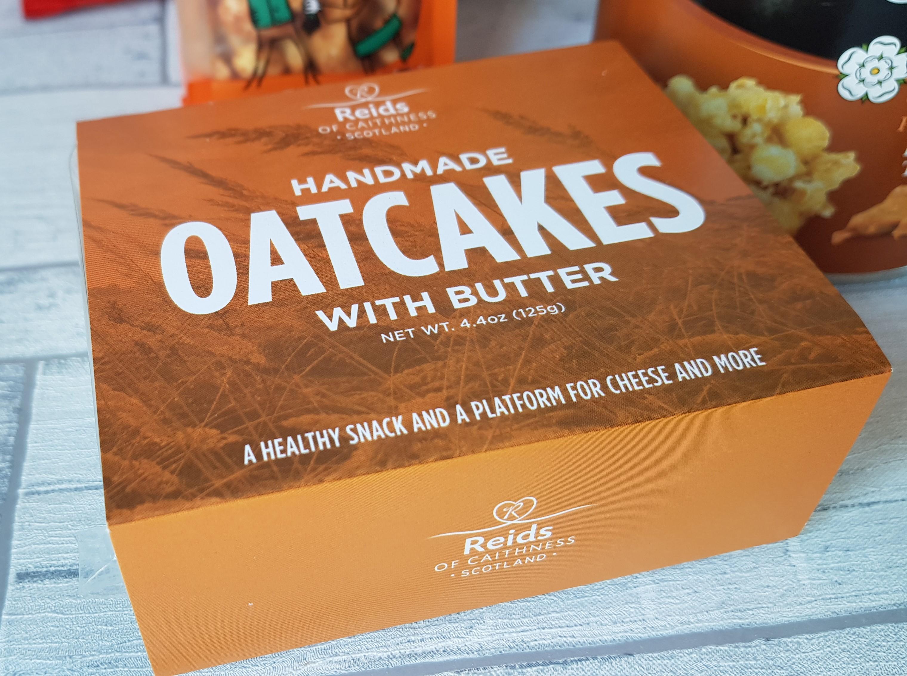 Prestige Hampers oatcakes