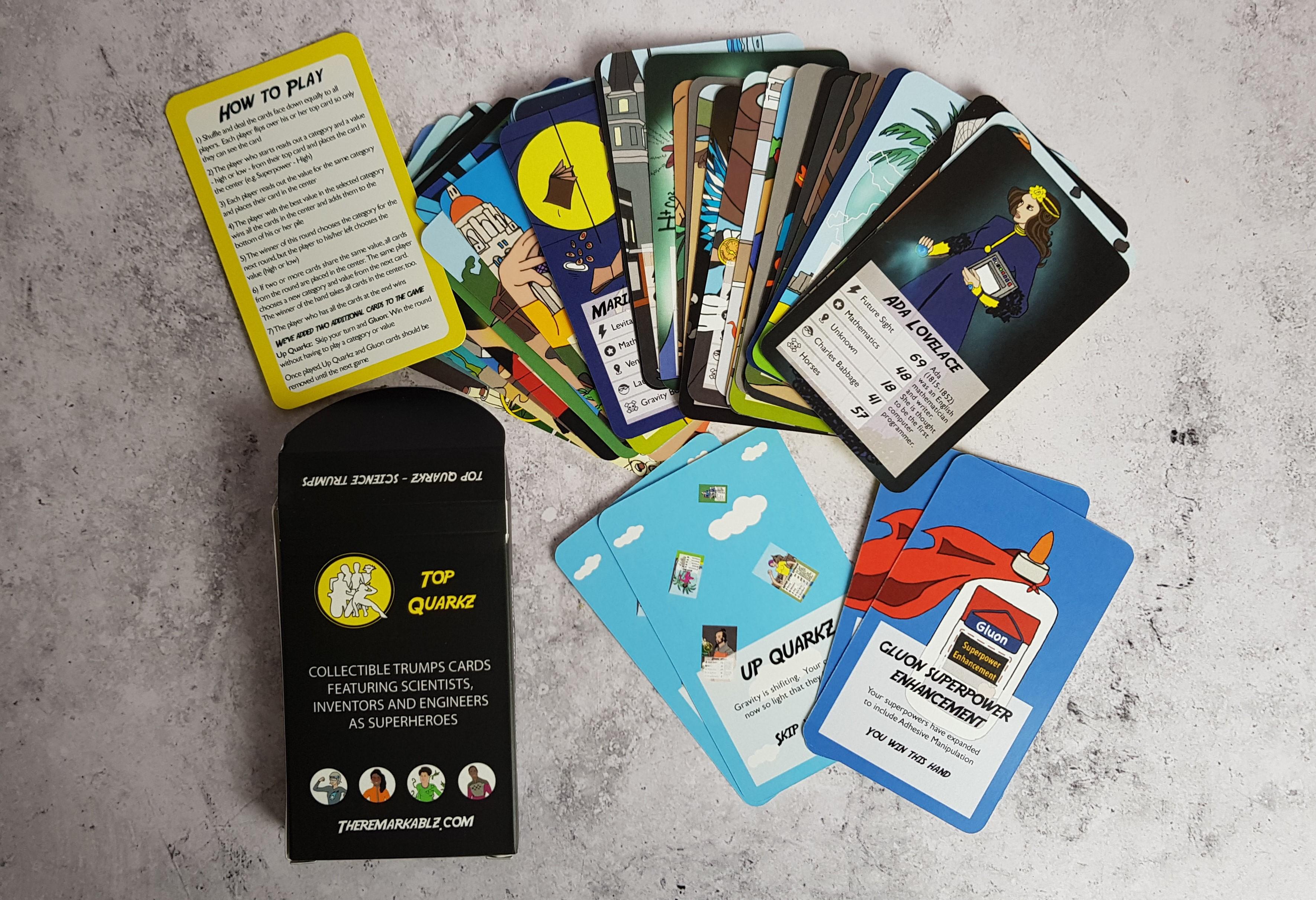 Top Quarkz card game