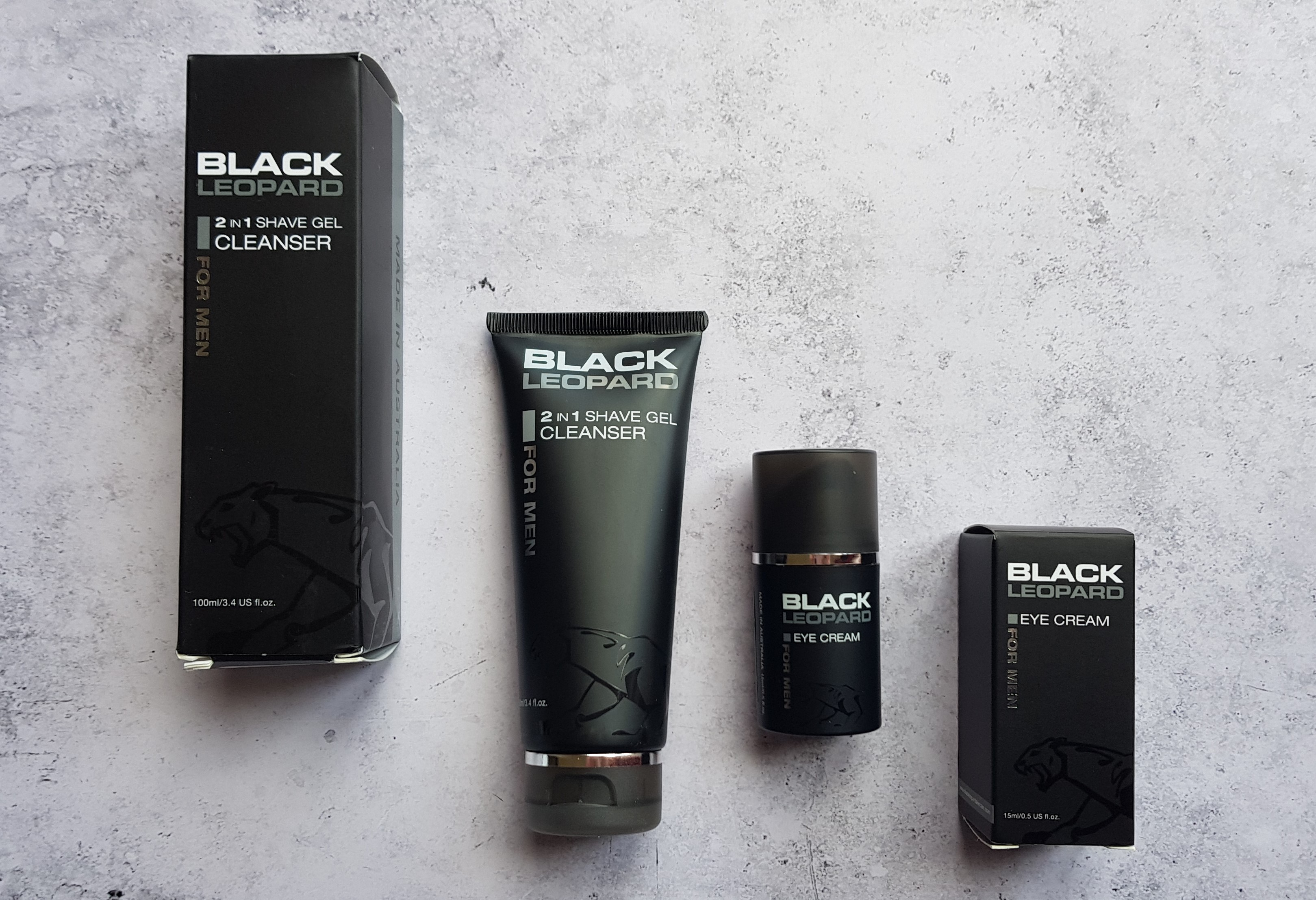 Black Leopard skincare products