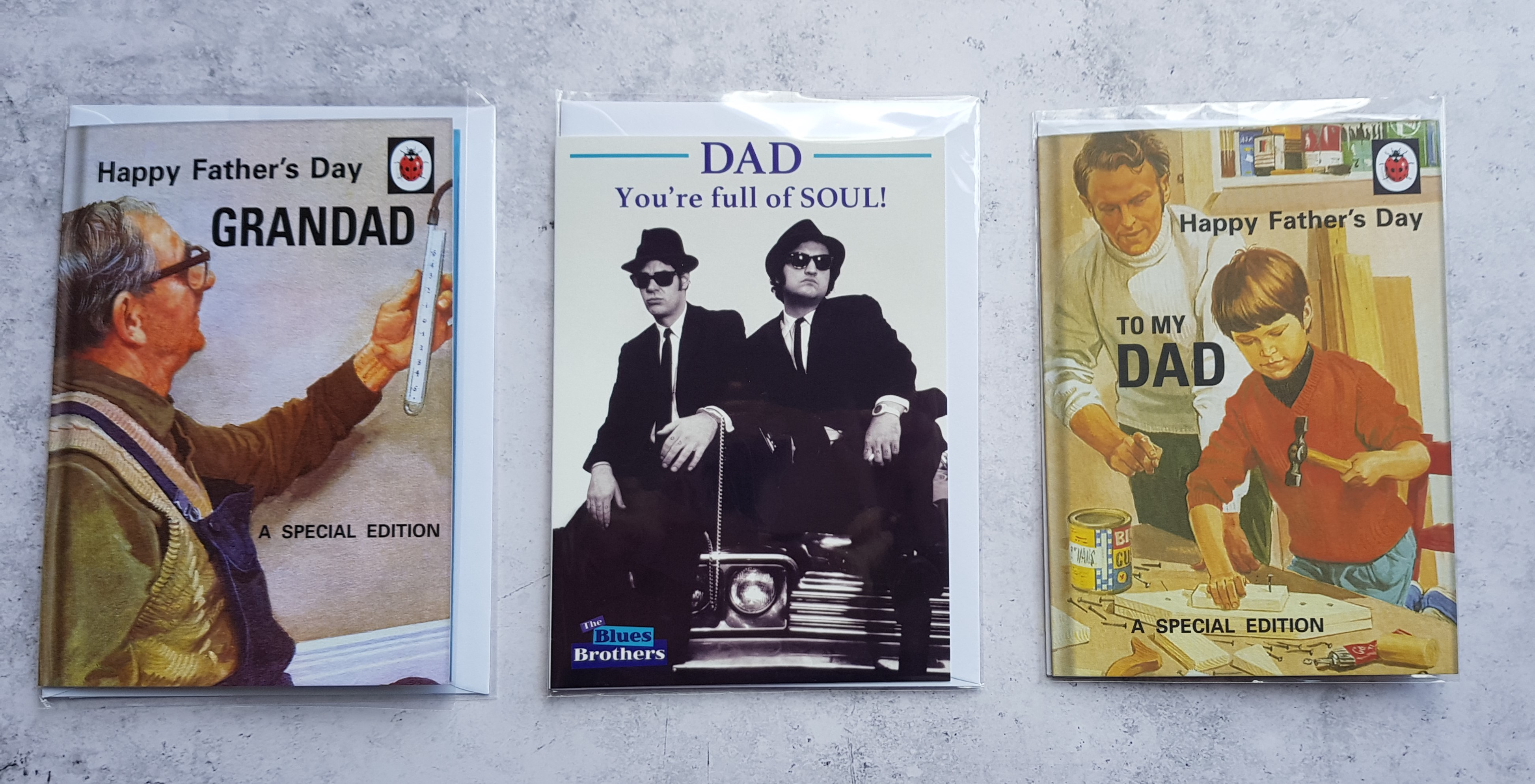 Danilo Ladybird cards front