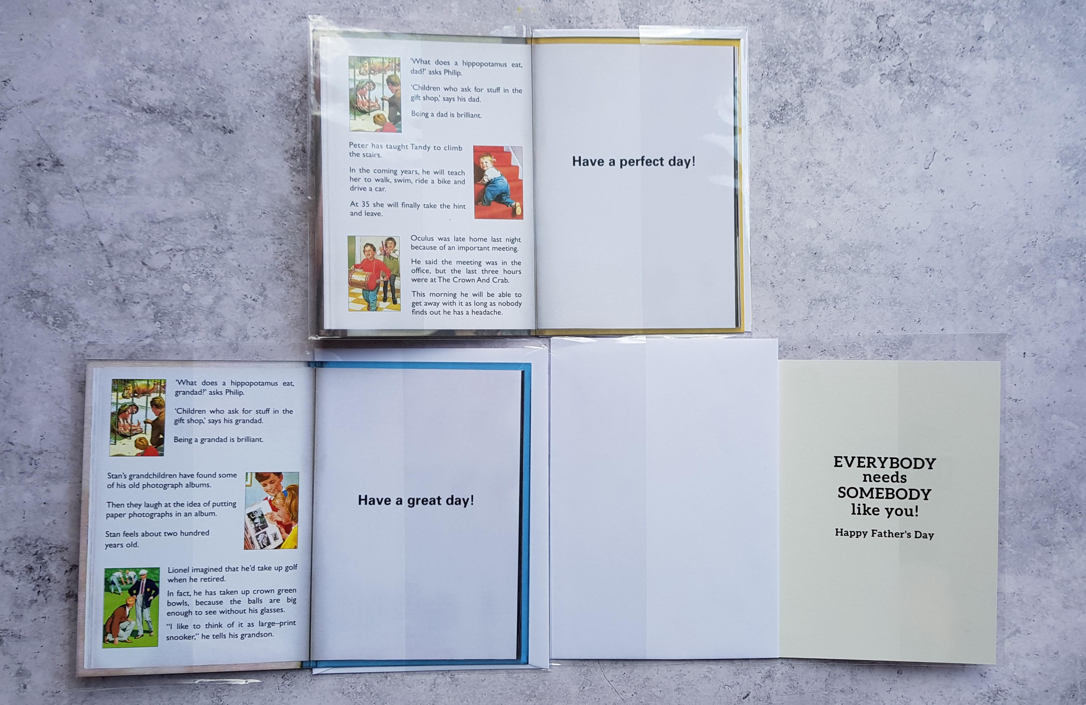 Danilo Ladybird cards inside