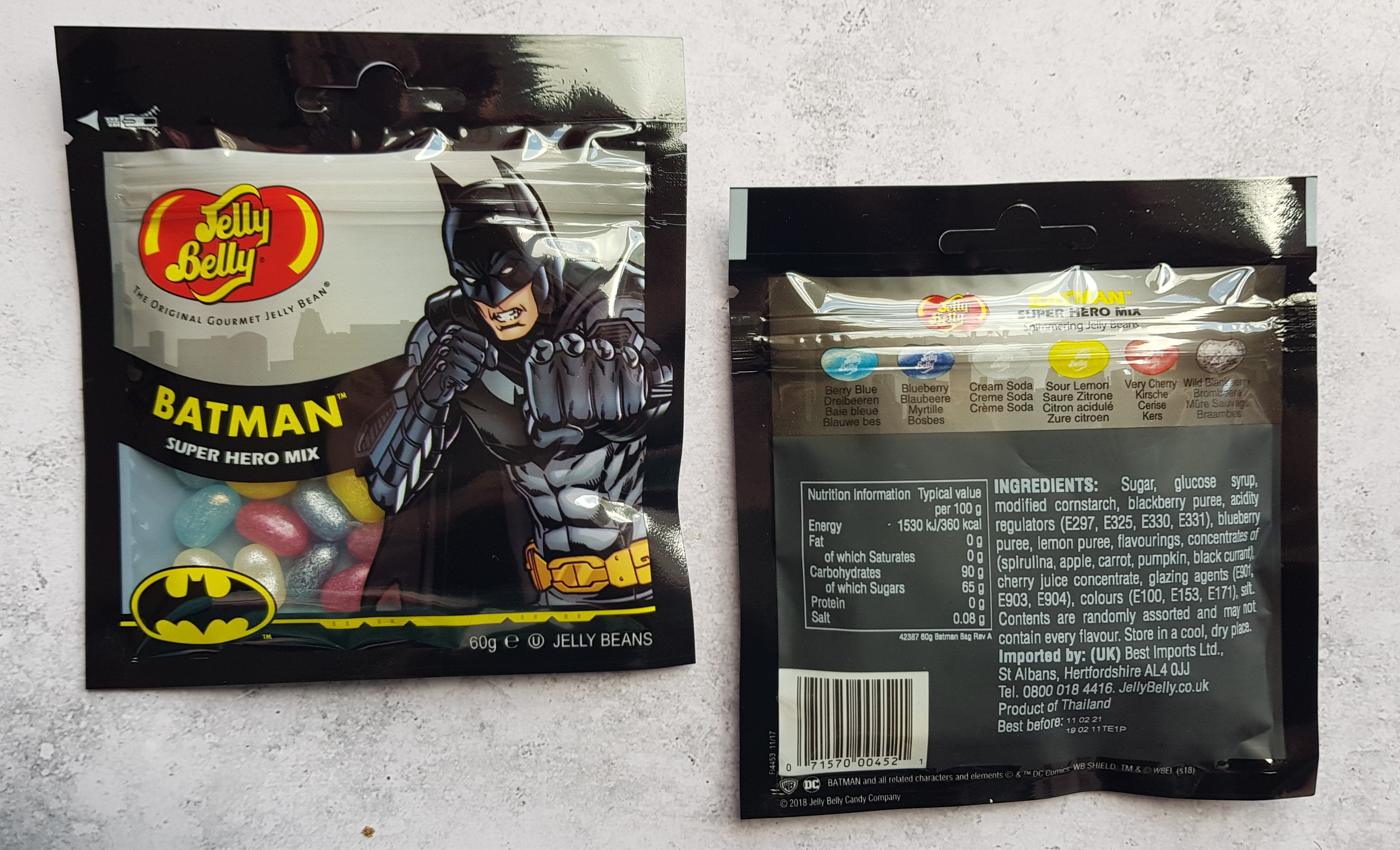 Jelly Belly DC Super Hero jelly beans