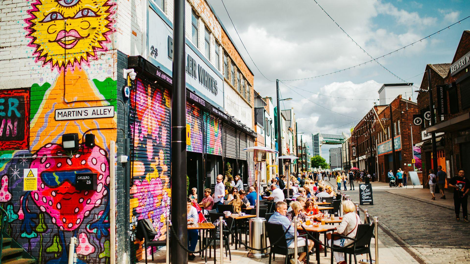 Hull Fruit Market Martins Alley