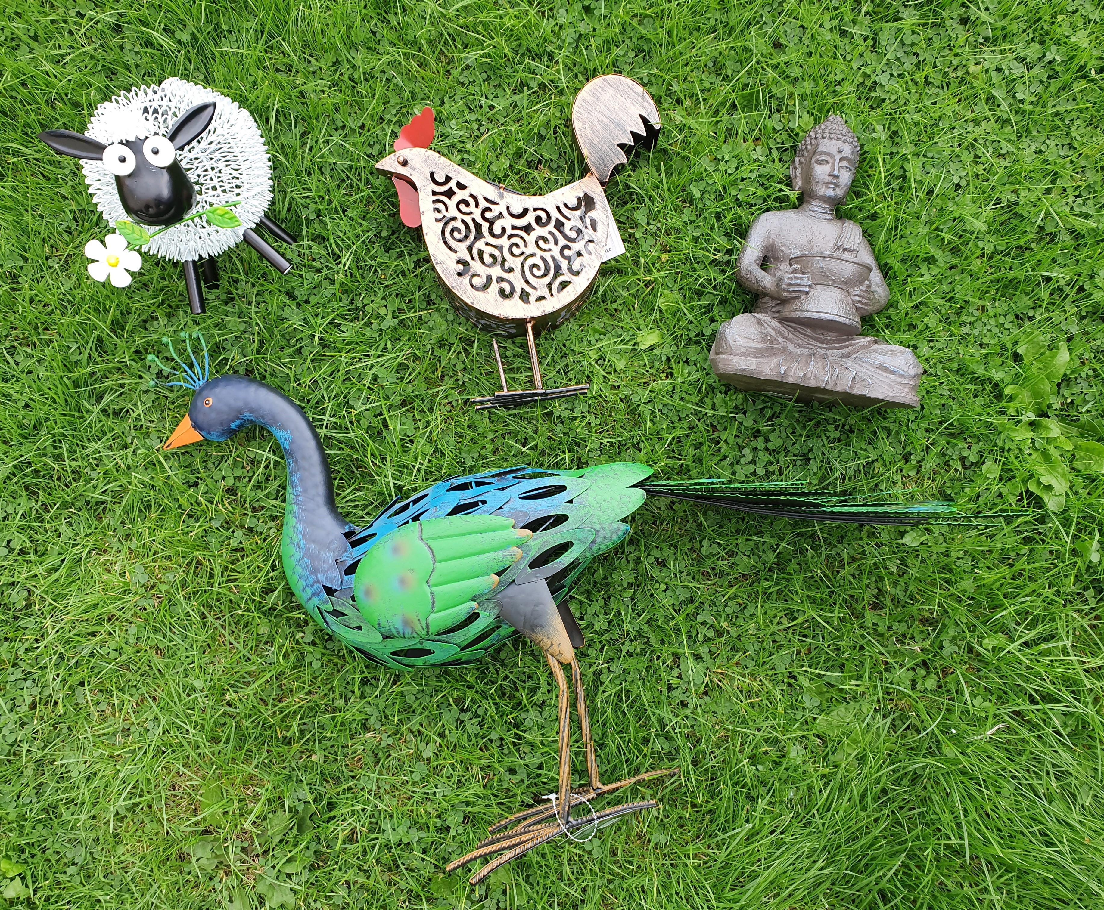 TJ Hughes garden ornaments