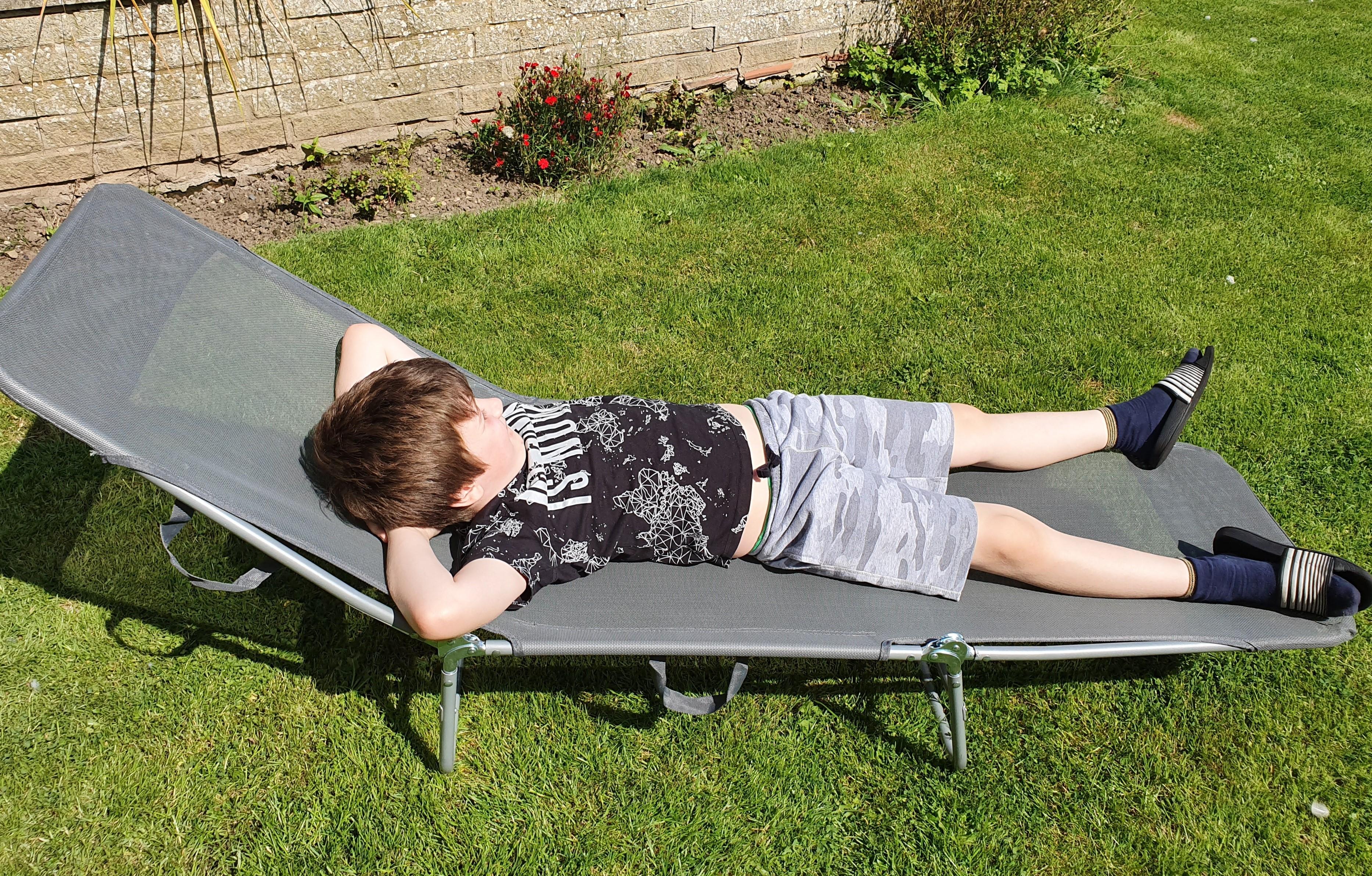TJ Hughes sun lounger