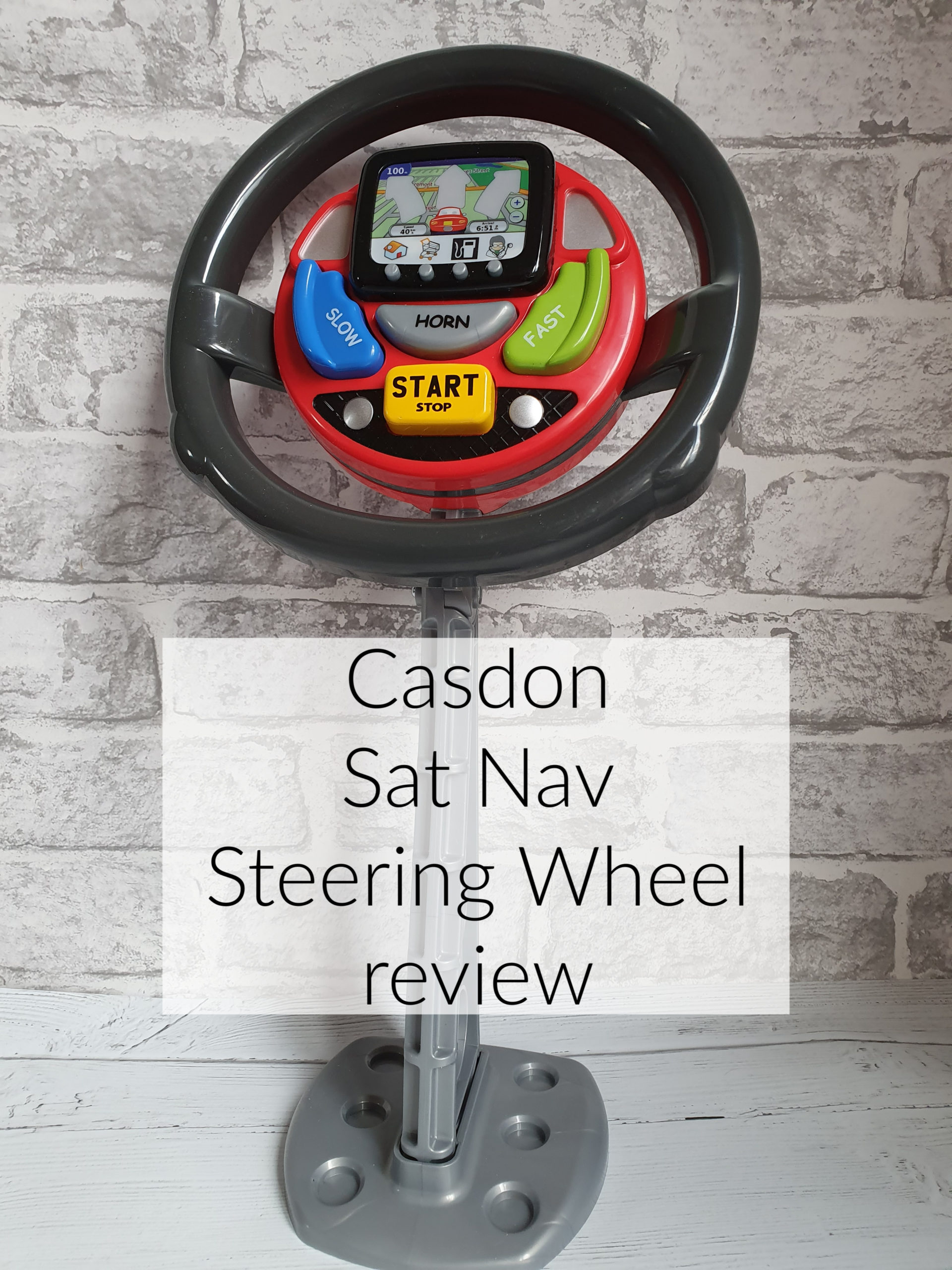 Casdon Sat Nav Steering Wheel review