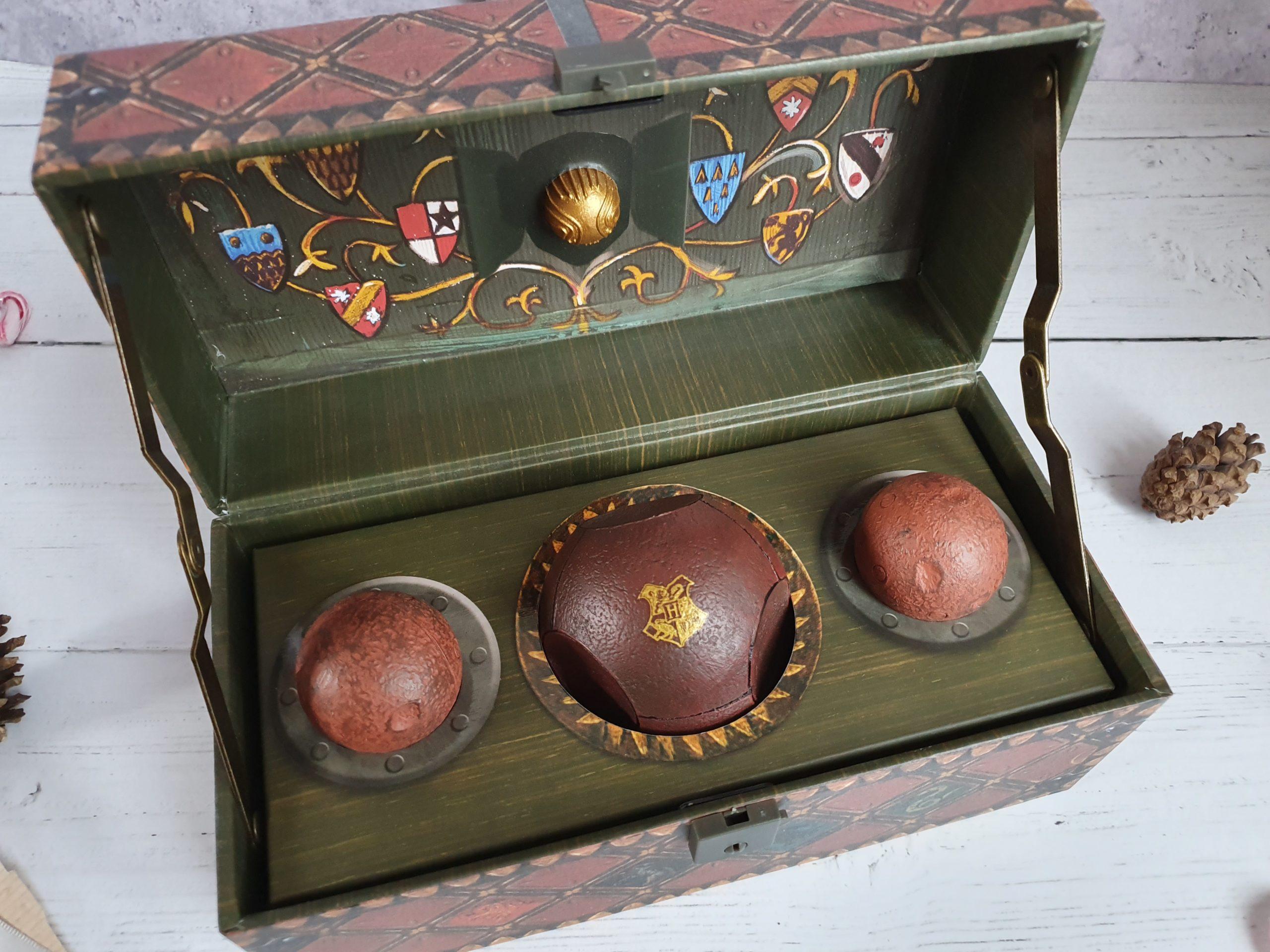Collectible quidditch set