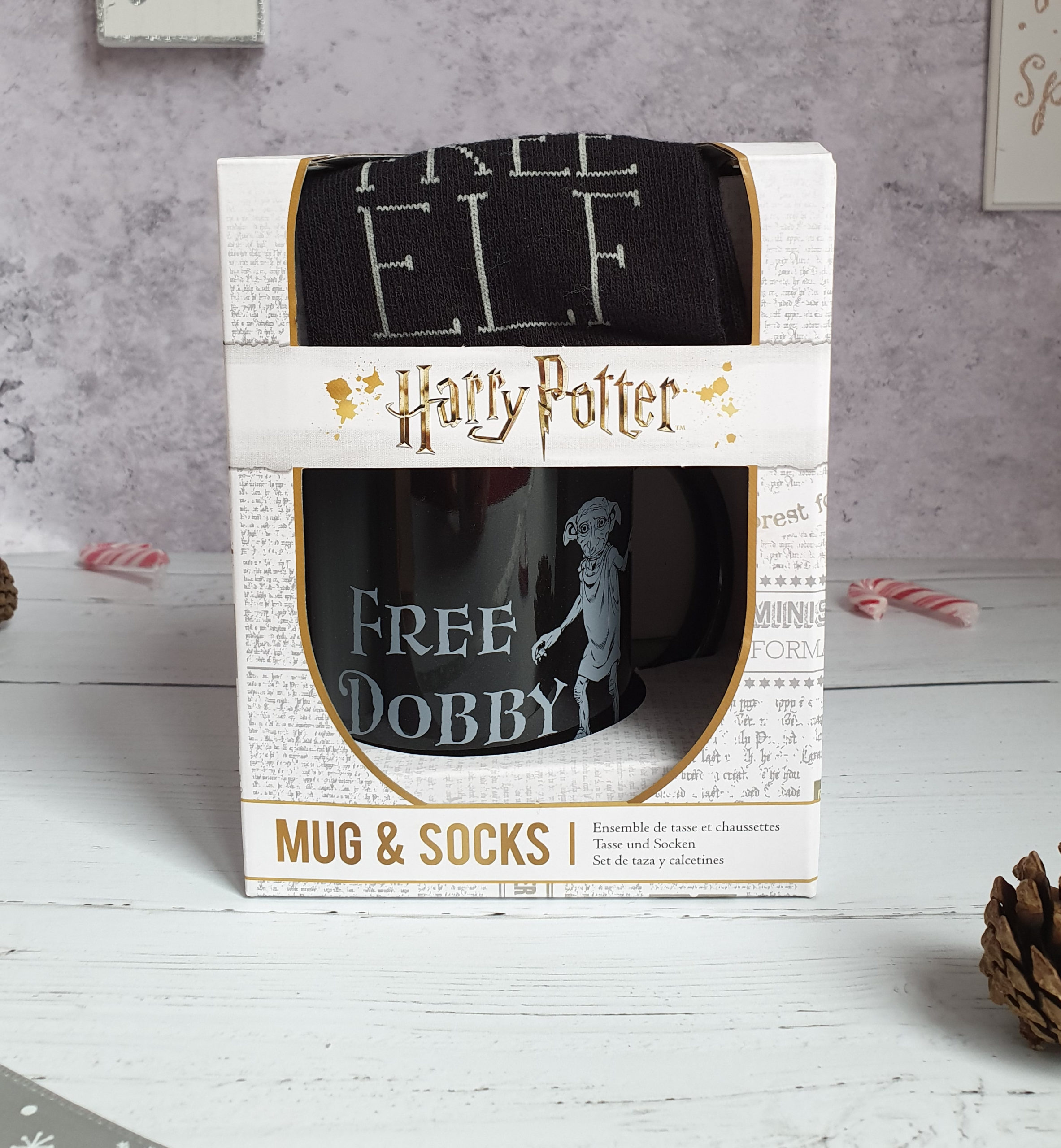 Dobby mug and socks