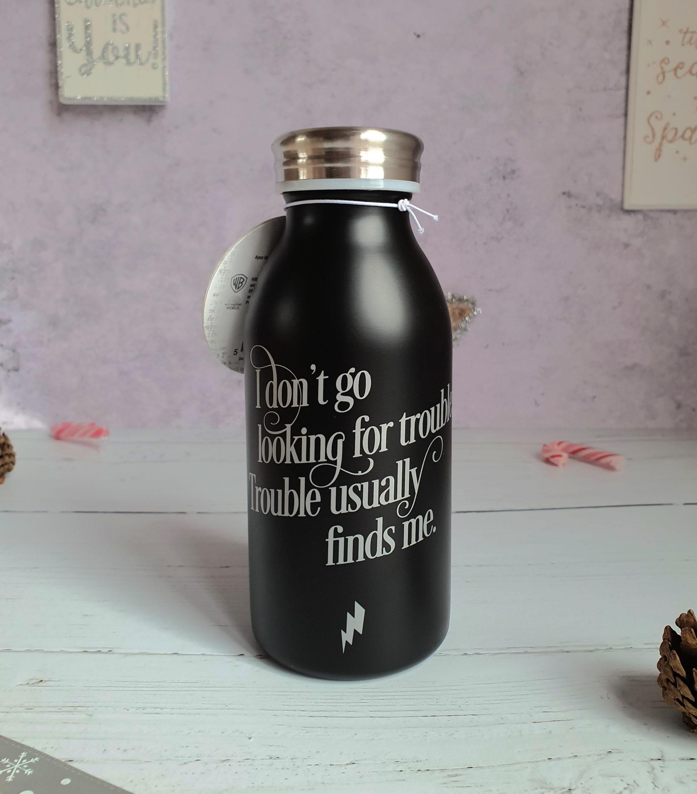 Trouble water bottle