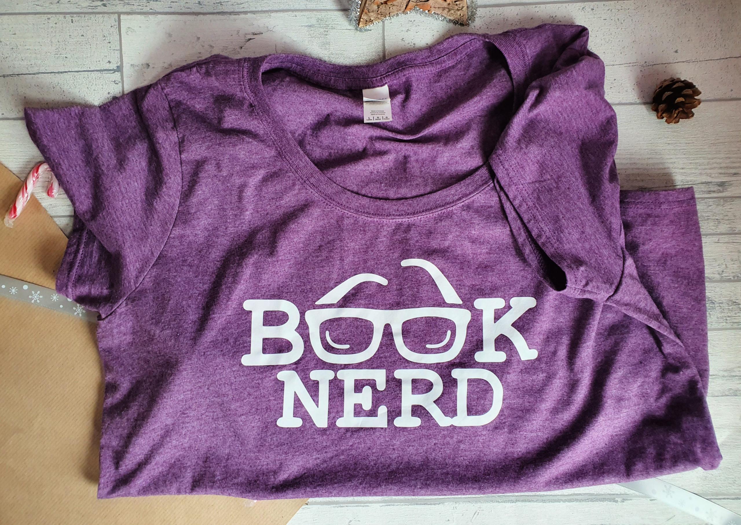 Book nerd tshirt