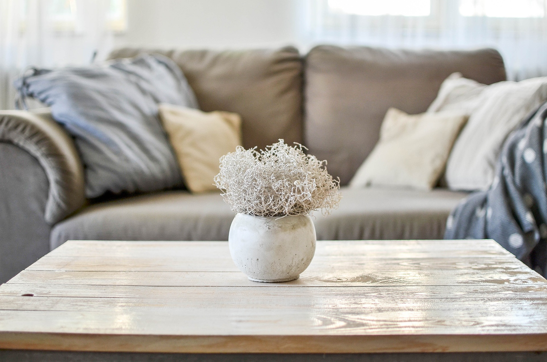 vase of flowers on table, Home Comforts: How to Create a Relaxing Living Room