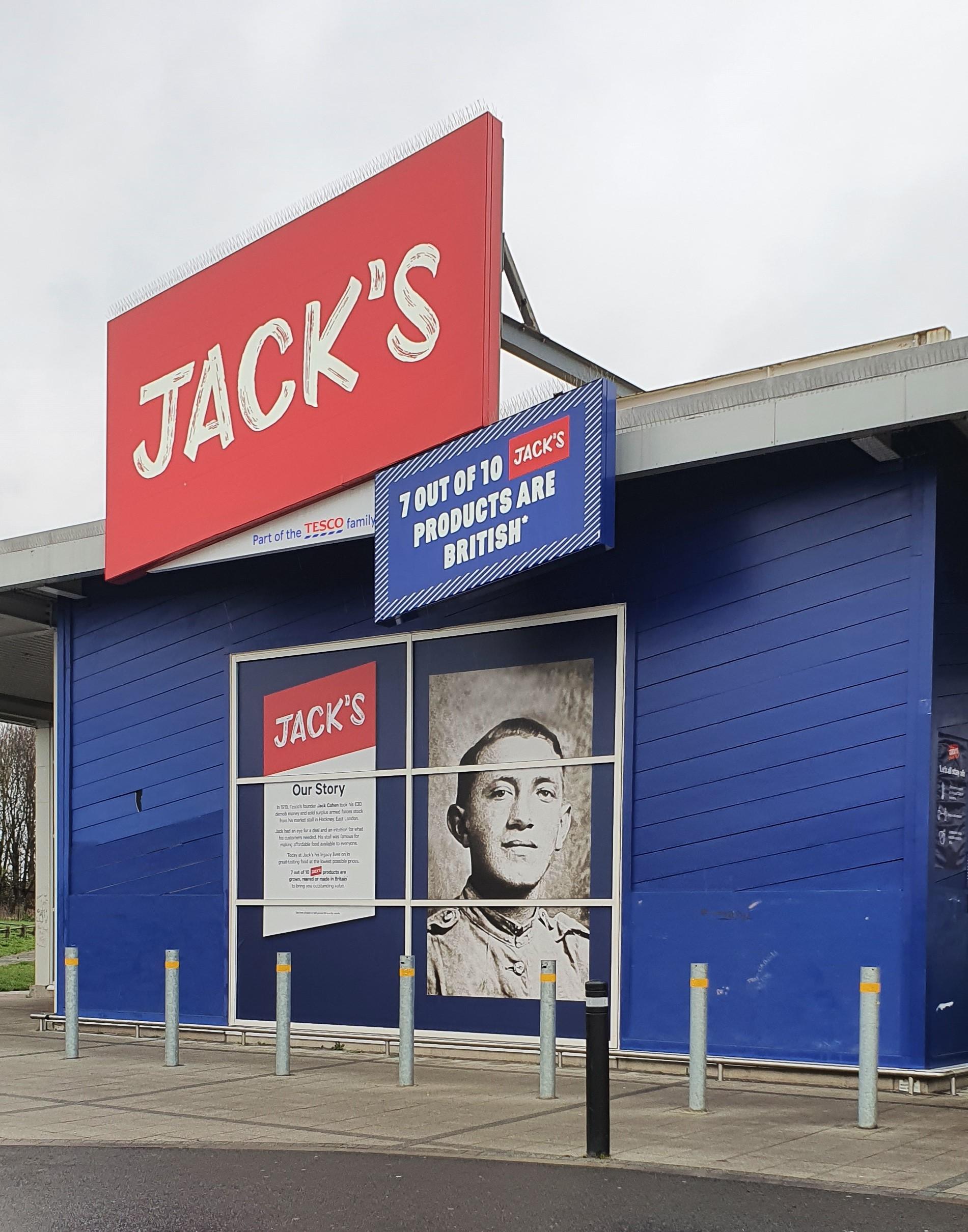 Jack's Supermarket exterior